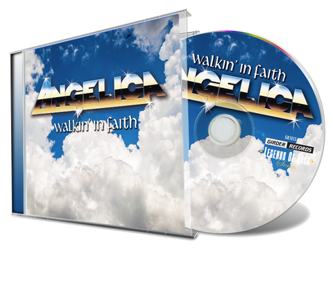 Angelica - Walkin' In Faith (New-CD) *2019 Remastered
