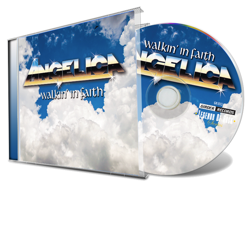 Angelica - Walkin' In Faith (New-CD) *2019 Remastered - Christian Rock, Christian Metal