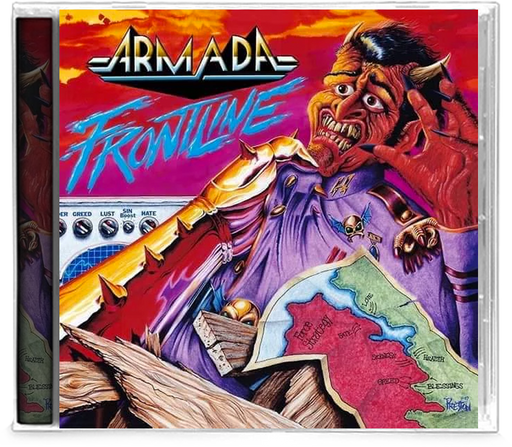 ARMADA - FRONTLINE (Legends Remastered) (*New-CD, 2019, Retroactive Records) - Christian Rock, Christian Metal