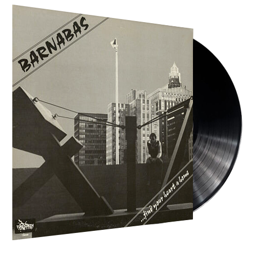BARNABAS - FIND YOUR HEART A HOME (Vinyl) ORIGINAL PRESSING ON TUNESMITH - Christian Rock, Christian Metal