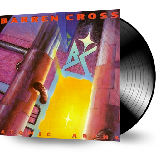 Barren Cross - Atomic Arena (Vinyl) - Christian Rock, Christian Metal