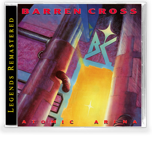 Barren Cross - Atomic Arena *(New-2020 Remastered CD) - Christian Rock, Christian Metal