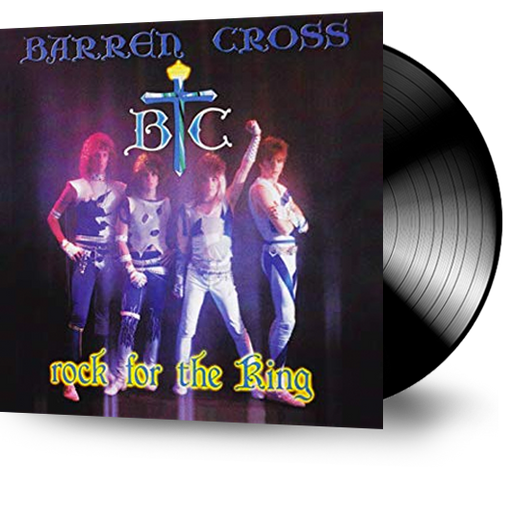 Barren Cross - Rock for the King (Vinyl) - Christian Rock, Christian Metal