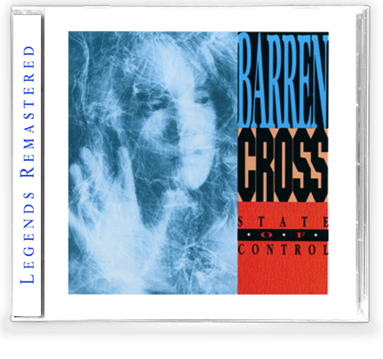 Barren Cross - State of Control + 2 Bonus Tracks *(New-2020 Remastered CD) - Christian Rock, Christian Metal