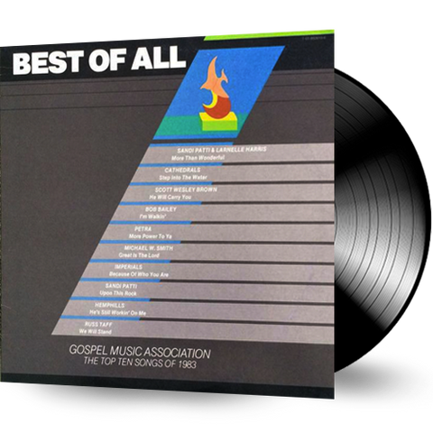 Best of All - TOP TEN SONGS OF 1983 (Vinyl) Russ Taff, Petra, Imperials