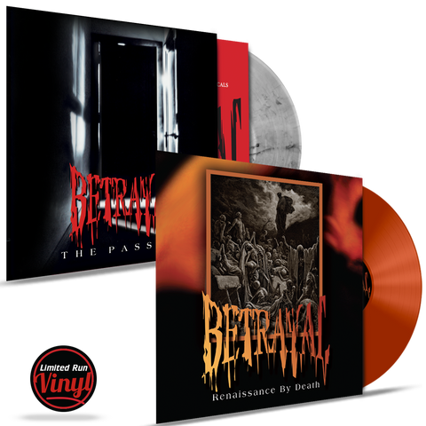 Betrayal - The Passing / Renaissance By Death (*COLORED 180 GRAM VINYL) 2 Album Bundle
