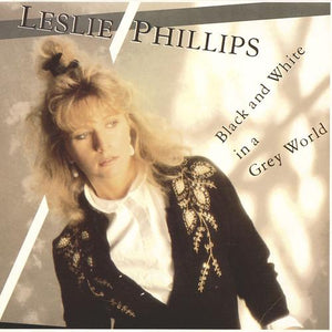 Leslie Phillips - Black and White in a Grey World (USED VINYL)
