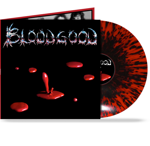 "BLOODGOOD - GATEFOLD w/ 24""x24"" POSTER, RED/BLACK SPLATTER"