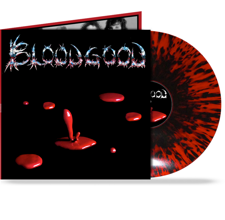 "BLOODGOOD - GATEFOLD w/ 24""x24"" POSTER, RED/BLACK SPLATTER GR1083"
