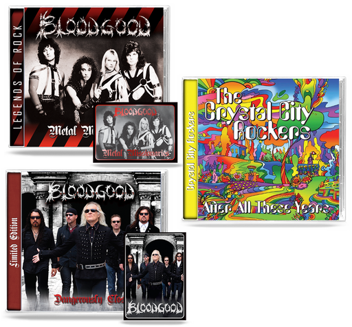 BLOODGOOD + CCR (3 CD BUNDLE)