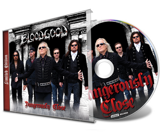 Bloodgood - Dangerously Close + 1 Bonus Track (Limited Edition CD) 2021 Remastered