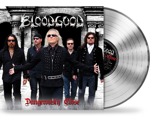 BLOODGOOD - DANGEROUSLY CLOSE (Limited Run Vinyl) 200 SILVER