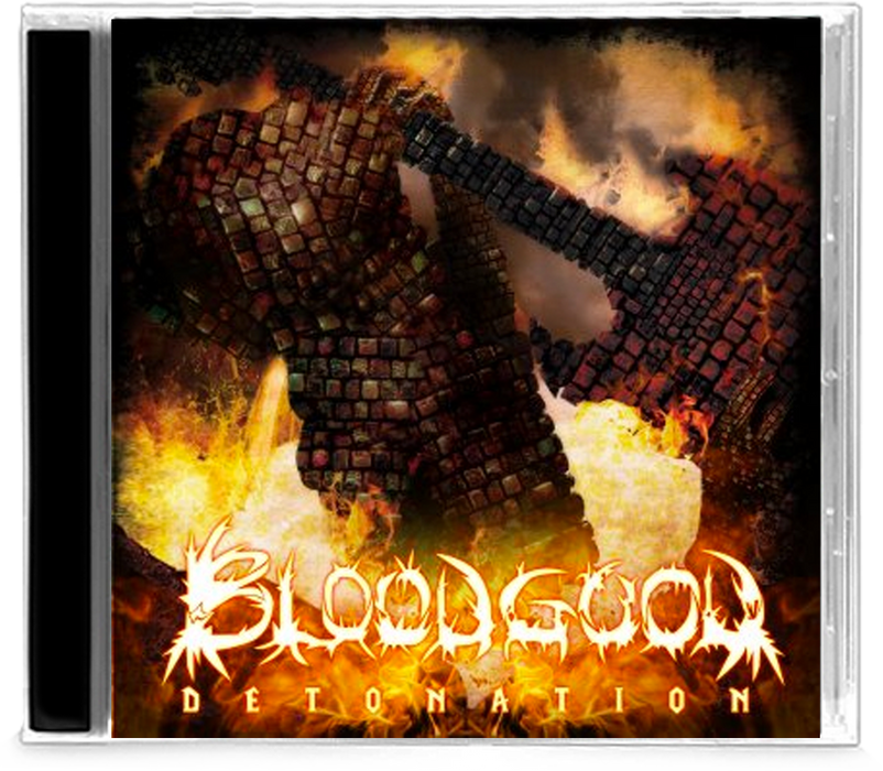 BLOODGOOD - DETONATION (2010, Intense Millennium) Remastered - Christian Rock, Christian Metal