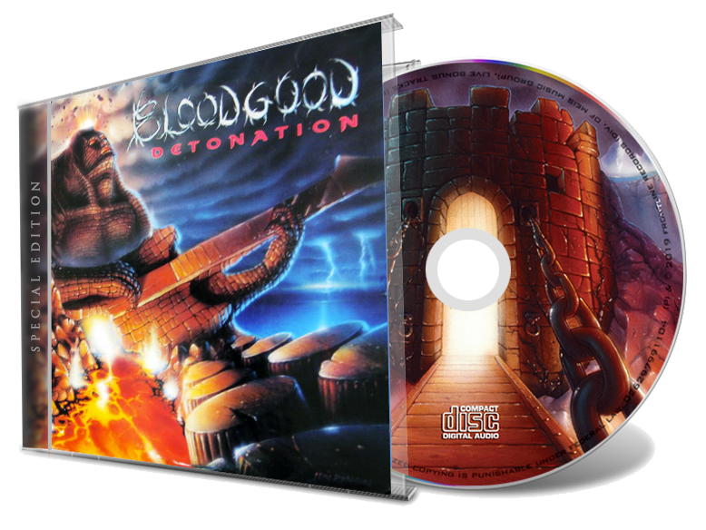 Bloodgood - Detonation Special Edition (NEW-CD) 2019 - Christian Rock, Christian Metal
