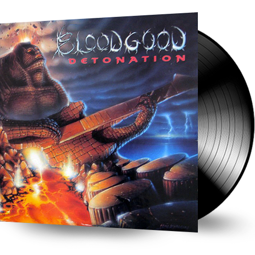 Bloodgood - Detonation (Vinyl) 1987 FRONTLINE RECORDS - Christian Rock, Christian Metal