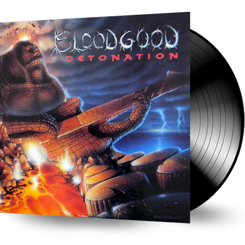 Bloodgood - Detonation (USED VINYL) 1987 FRONTLINE RECORDS