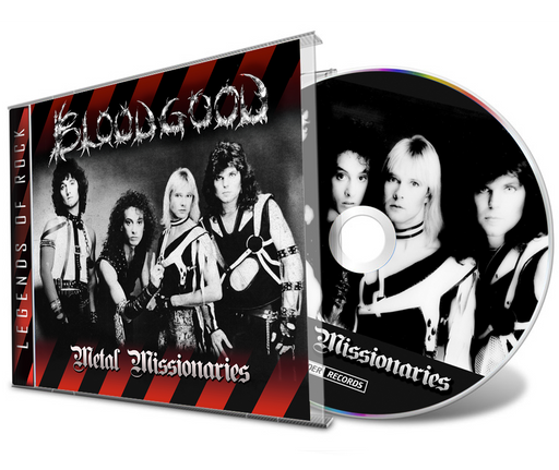 Bloodgood - Metal Missionaries Demo + 4 Bonus Tracks (CD) 2021 Remaster