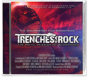 Bloodgood - Trenches of Rock (CD) Soundtrack - Christian Rock, Christian Metal