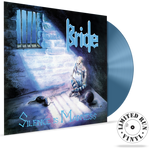 BRIDE - SILENCE IS MADNESS + 1 bonus track (Limited Run Vinyl) (*NEW, 180 Gram Grey with Blue Swirl Vinyl, 2019, Retroactive)