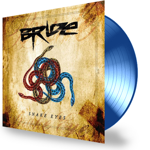 BRIDE - SNAKE EYES (Blue Vinyl) - Christian Rock, Christian Metal