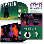 Shout Back / Tamplin - PRE-ORDER (CD) Bundle w/Buttons
