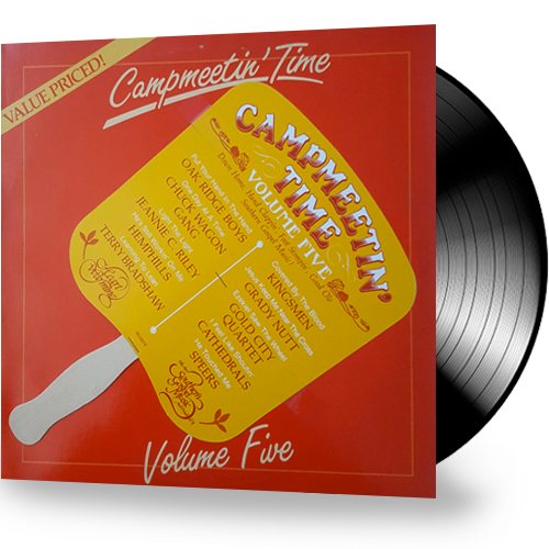 Various Artists  - Campmeetin' Time Volume Five (Vinyl) - Christian Rock, Christian Metal