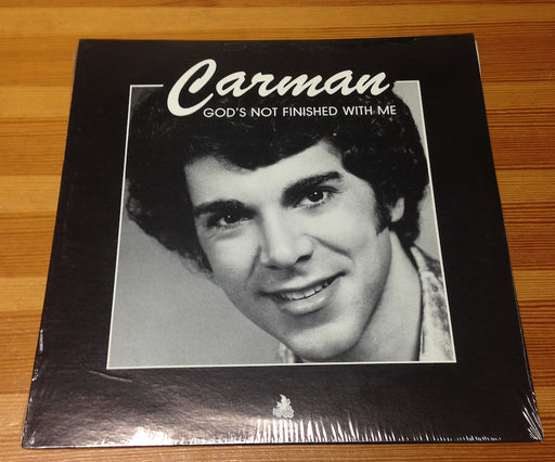 Carman - God's Not Finished With Me (Vinyl) ULTRA RARE!!!! FIRST ALBUM. - Christian Rock, Christian Metal