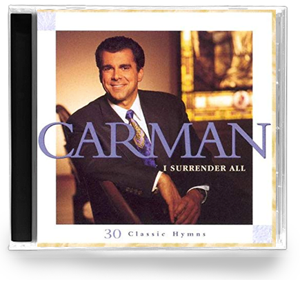 Carman - I Surrender All (CD) 1997 Sparrow - Christian Rock, Christian Metal