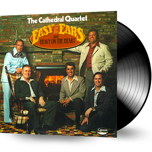 The Cathedral Quartet - Easy on the Ears and Heavy On the Heart (vinyl) pre-owned - Christian Rock, Christian Metal