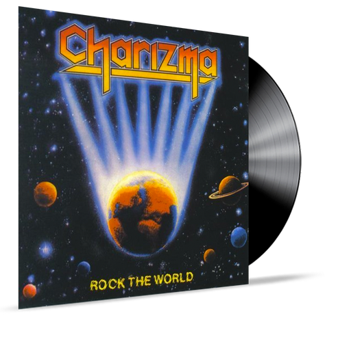 Charizma - Rock The World (Vinyl) - Christian Rock, Christian Metal