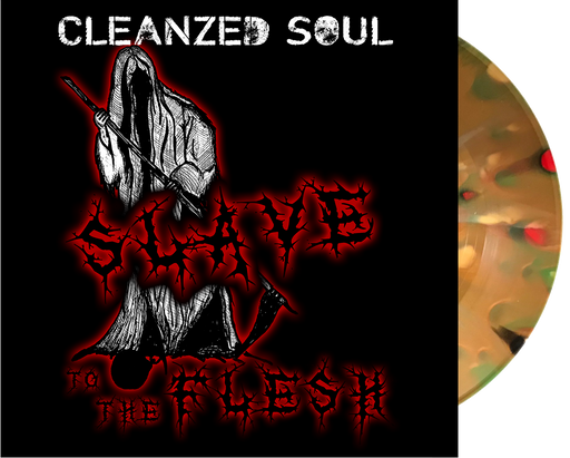 "Cleanzed Soul - Slaves To the Flesh (7"" Vinyl) - Christian Rock, Christian Metal"