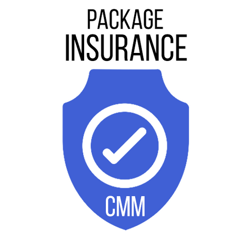 $3 PACKAGE INSURANCE - Hassle Free - 100% Coverage of any size order