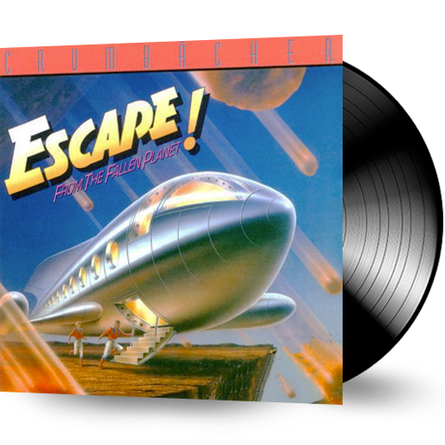 Crumbacher - Escape From the Fallen Planet (Vinyl) - Christian Rock, Christian Metal