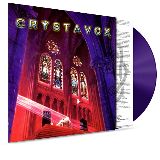 Crystavox (Purple Vinyl) - Christian Rock, Christian Metal