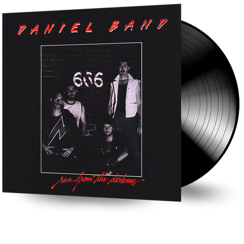 Daniel Band - Run From the Darkness (Vinyl) Pre-Owned