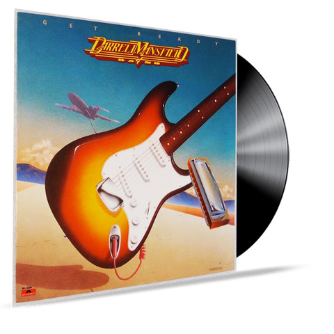 DARREL MANSFIELD - GET READY (VINYL) HIS FIRST ALBUM