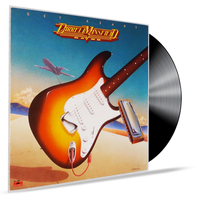 DARREL MANSFIELD - GET READY (VINYL) HIS FIRST ALBUM - Christian Rock, Christian Metal