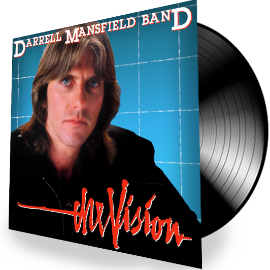 Darrell Mansfield - The Vision (A&S Records) - Christian Rock, Christian Metal
