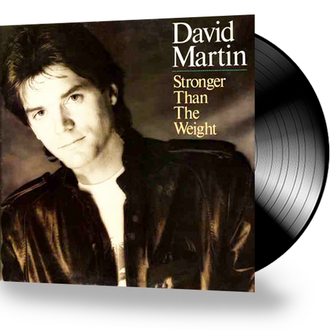 David Martin - Stronger Than The Weight (Vinyl)