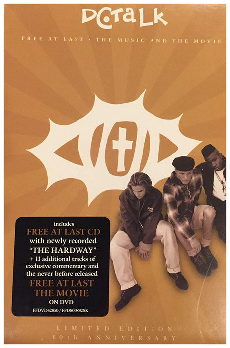 DC Talk - Free at Last (CD) The Music And The Movie - Christian Rock, Christian Metal