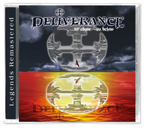 Deliverance - As Above, So Below (2019 CD) - Christian Rock, Christian Metal