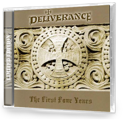 DELIVERANCE - THE FIRST FOUR YEARS (2007, Retroactive) Christian Thrash Metal Demos