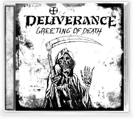 DELIVERANCE - GREETING OF DEATH (CD) 2019 Retroactive Records - Christian Rock, Christian Metal