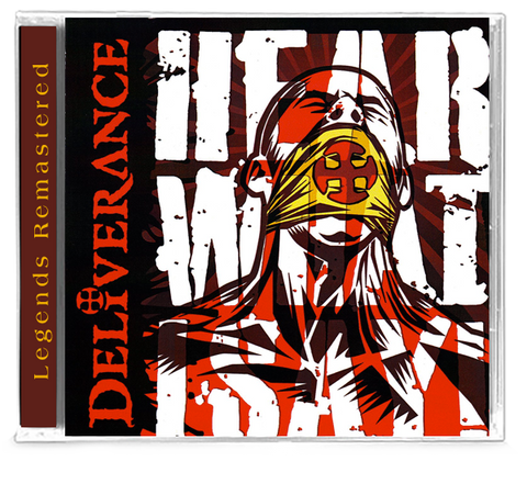 DELIVERANCE - HEAR WHAT I SAY! + Bonus Tracks (CD) 2019
