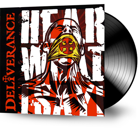 DELIVERANCE - HEAR WHAT I SAY! (Retroarchives Edition) (*NEW-VINYL, 2019) - Christian Rock, Christian Metal