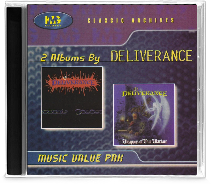 Deliverance Weapons of Our Warefare 2 Album (KMG) Classic Archives - Christian Rock, Christian Metal