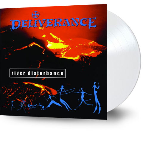 DELIVERANCE - RIVER DISTURBANCE (Legends Remastered) (*NEW-White Vinyl, 2018 Retroactive Records)