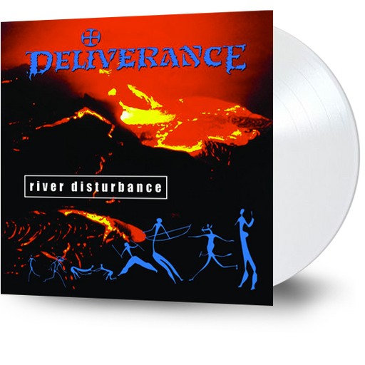 DELIVERANCE - RIVER DISTURBANCE  (White Vinyl) - Christian Rock, Christian Metal