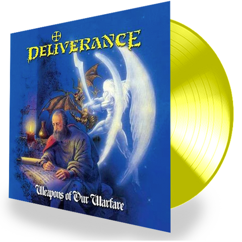 DELIVERANCE - WEAPONS OF OUR WARFARE (*NEW-YELLOW 180 Gram Vinyl) 2019 Edition