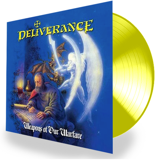 DELIVERANCE - WEAPONS OF OUR WARFARE (*NEW-YELLOW 180 Gram Vinyl) 2019 Edition - Christian Rock, Christian Metal